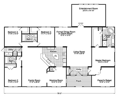 floor plans for entertaining view the gotham flex floor plan for a 3301 sq ft palm