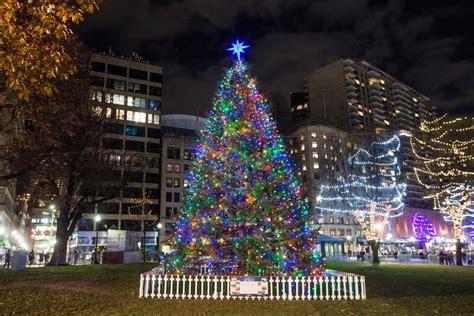 boston christmas tree lighting photo albums perfect
