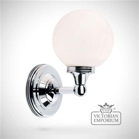 Bathroom wall light   Austin 4 in polished chrome   Lights