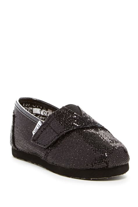 toms baby shoes toms glitter classics shoe baby toddler kid