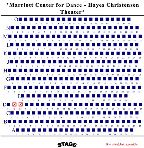 kingsbury seating chart seating charts tickets