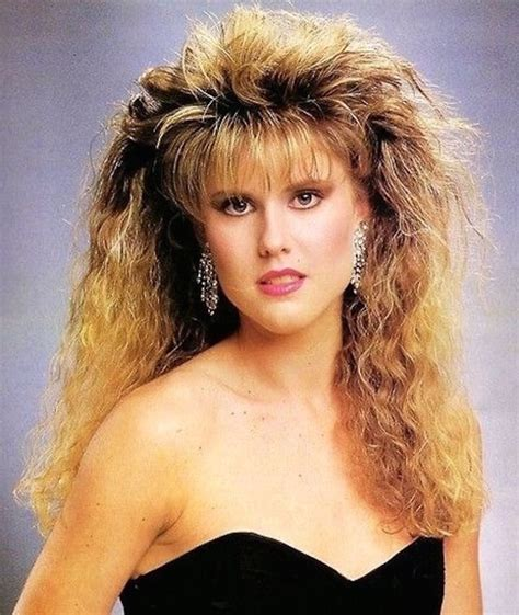 stacked hairstyles of the 80s and 90s crimped hair is fully coming back whether you like it or not