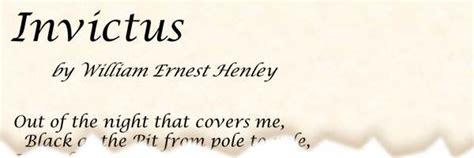 printable version of invictus poem invictus by william ernest henley