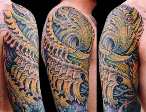 biomech tattoos aitchison biomech tam