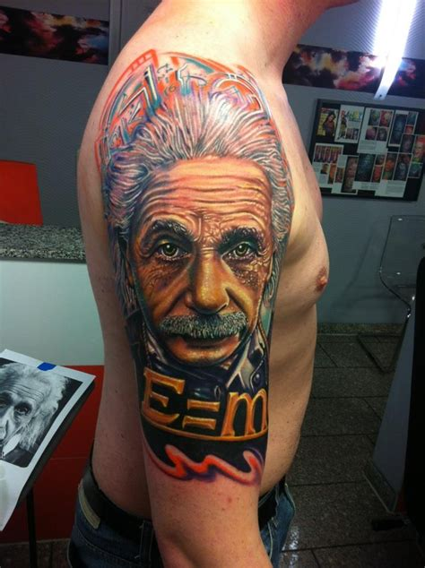 roman tattoo albert einstein 171 tattoo art project if