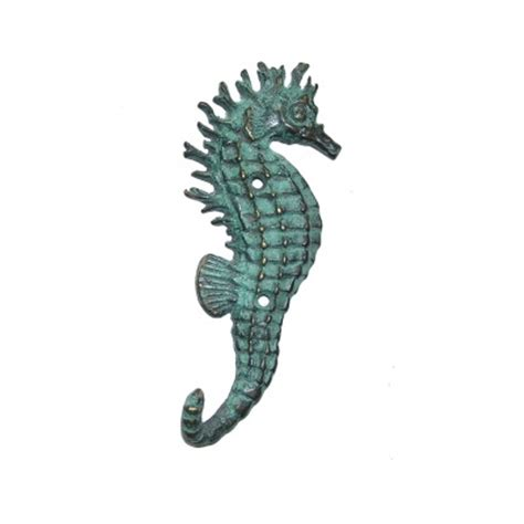 spi home decor brass seahorse wall hook spi home coastal nautical decor