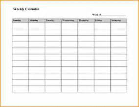 calendar template week 5 8 week calendar template basic appication letter