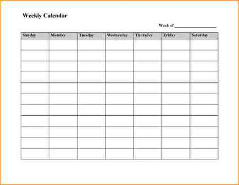 5 8 week calendar template basic job appication letter