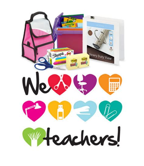Office Depot Coupons For Teachers Office Depot Appreciation Days Free Calendar And