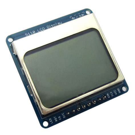 Lcd Nokia 6 1 6 quot nokia 5110 lcd display module w blue backlit for