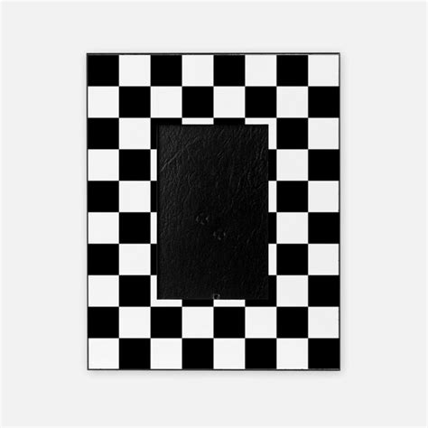 white pattern photo frame black and white checkered picture frames black and white