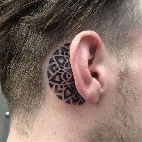 behind the ear tattoos for men best tattoos 2018 best tattoos for 2018 ideas