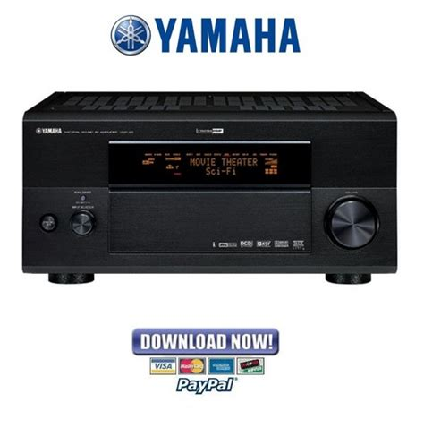 Yamaha DSP Z9   RX Z9 Receiver Amplifier Service M anual & Repair Gu