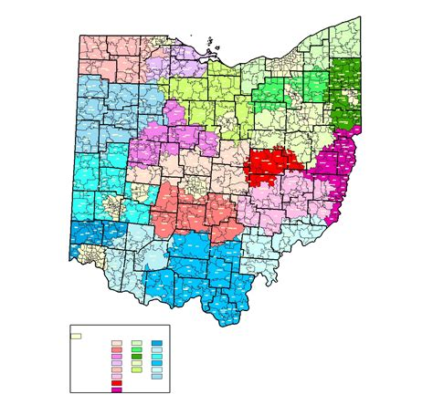 ohio zip code map columbus ohio zip code map images