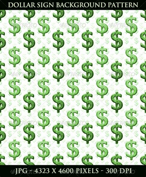 patterns photoshop money dollar sign background pattern business backgrounds
