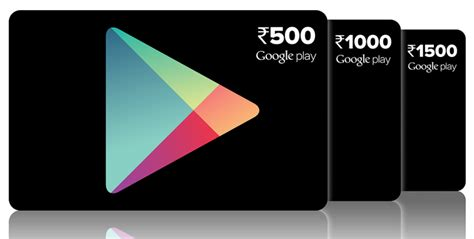 Electronic Google Play Gift Card - google play prepaid vouchers are finally available in india