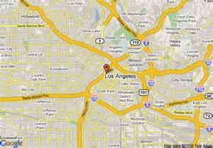 map la california map of marriott los angeles downtown los angeles