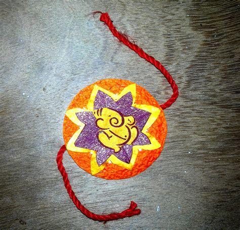 Handmade Rakhi Ideas - diy traditionally handmade rakhi gift shopping