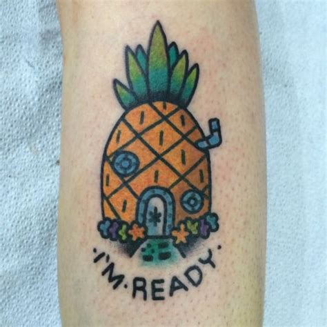 spongebob tattoo best 25 home ideas on symbol