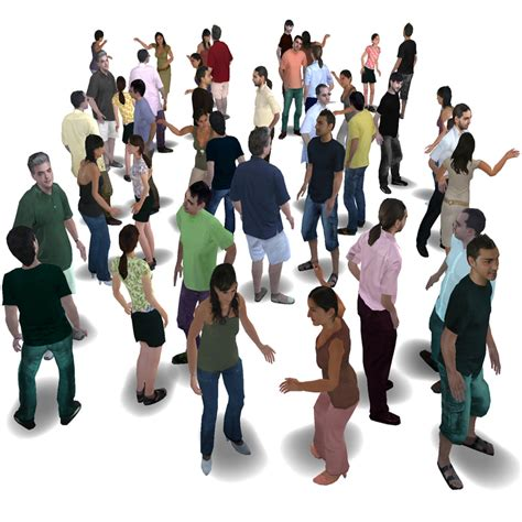Find Peoples Human Characters 3d Model