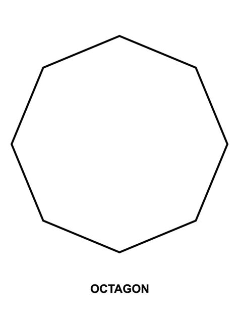 picture of octagon free coloring pages of octagon tracinge