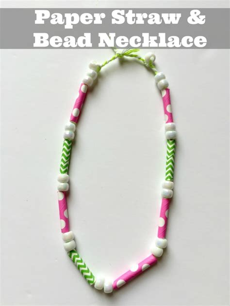 How To Make Paper Bead - how to make paper necklace www pixshark