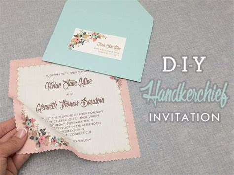 diy wedding invitations printing 27 fabulous diy wedding invitation ideas