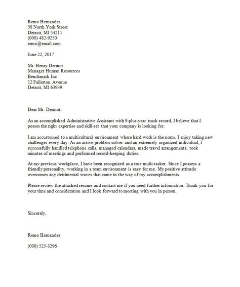 The Best Cover Letter Templates For 2019 For Your Success Clr Best Cover Letter Template