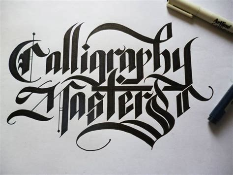 beautiful examples of calligraphy kristelvdakker