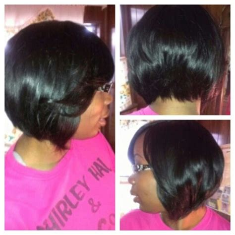 which hair is better for sew in bob full sew in bob hair styles pinterest bobs