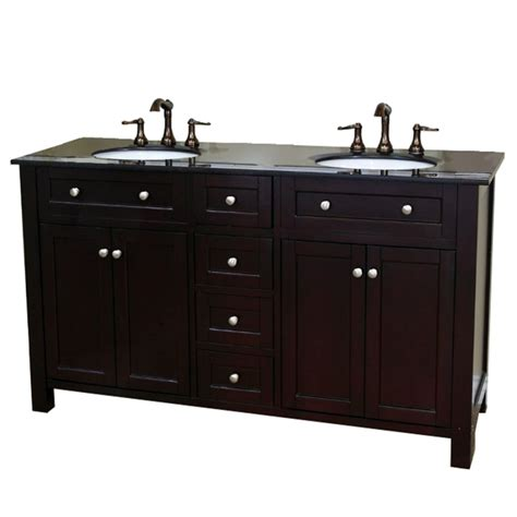 62 bathroom vanity 62 inch double bathroom vanity with black galaxy