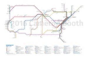 2016 amtrak subway map large cameron booth
