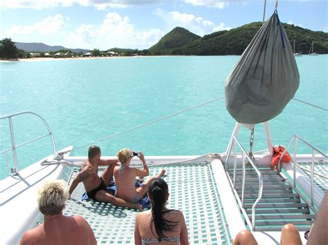catamaran cruise and lobster lunch antigua visiting antigua with disney cruise line disney parks blog