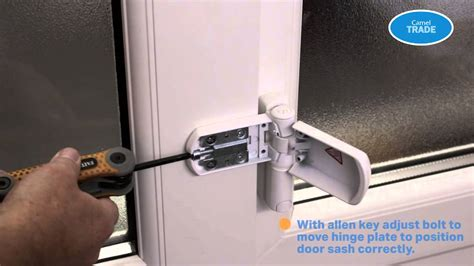 how to adjust door hinges how to adjust a hinge for a dropped pvc door youtube