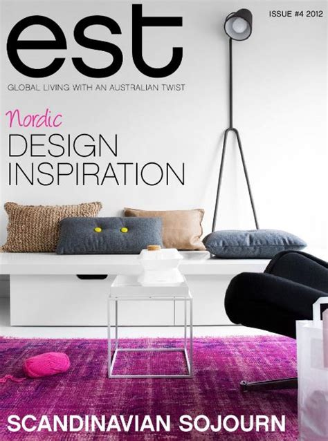home decor magazines australia est magazine 4 free online read for home decor ideas