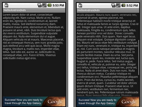 android layout banner bottom google ads developer blog incorporating android admob ads