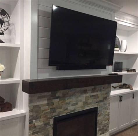 installing fireplace mantel shelf best 25 floating mantel ideas on