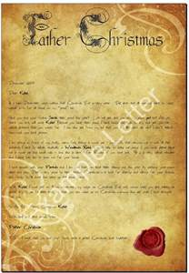 Charity Letter From Father Christmas father christmas post personalised letters from father christmas