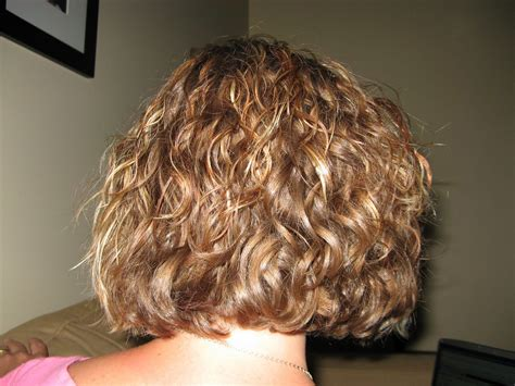 fine hair color and bob perms short fine hair body wave perms before and after hair
