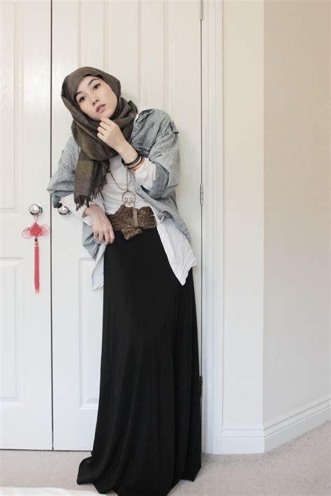 Hijaber Style western style fashion melody