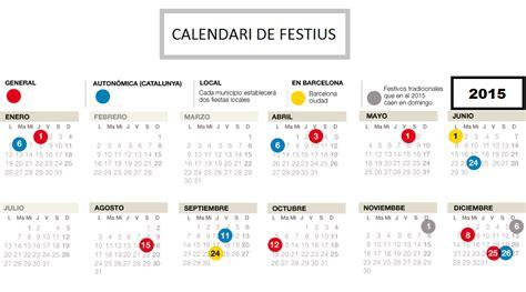 Calendrier D Espagne Calendrier Des F 234 Tes Et Jours F 233 Ri 233 S 224 Barcelone