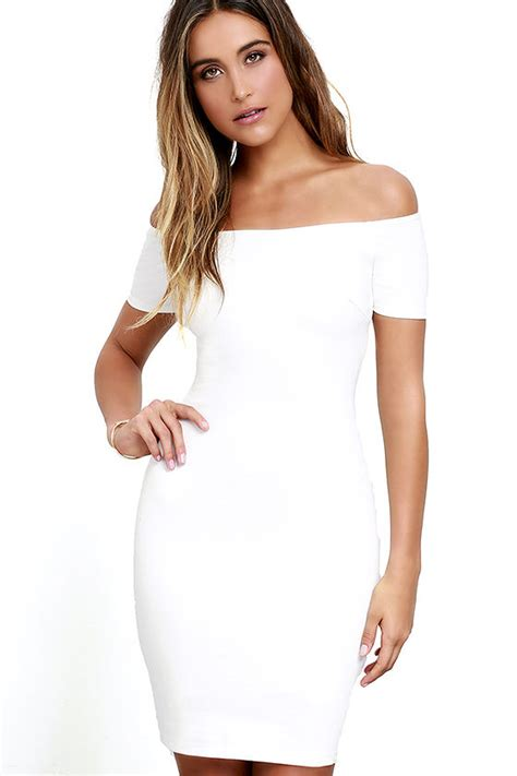 Plain Layer Jumpsuit Elegan Cantik white dress the shoulder dress bodycon dress