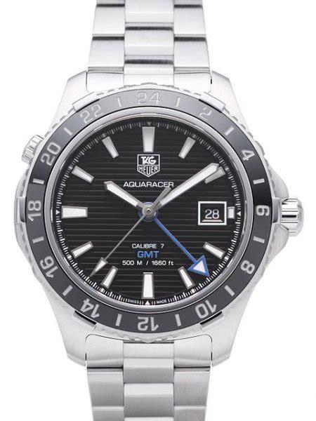 Tag Heuer Aquaracer 500M Calibre 7 GMT   WAK211A.BA0830   Uhrinstinkt