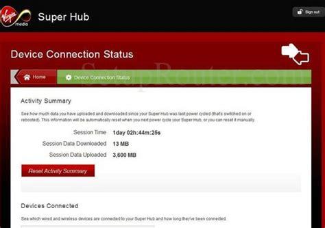 reboot virgin superhub 2 netgear virgin media super hub 2 screenshots