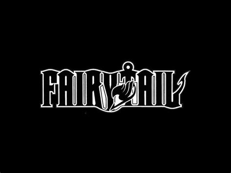 black and white wallpaper online fairy tail logo wallpapers wallpaper cave