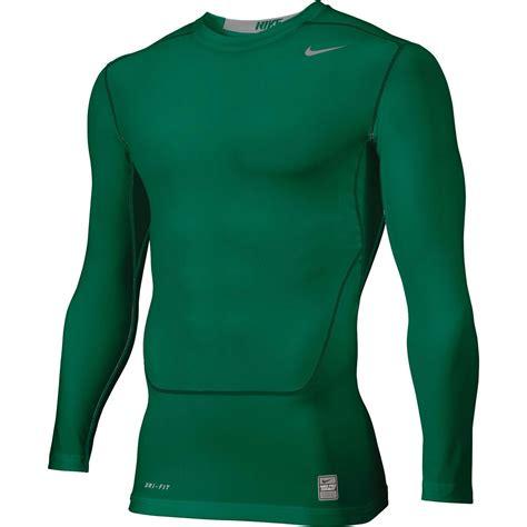 Baseslayer Nike Procombat Shirtsleeve nike pro combat fit white compression base layer sleeve shirt regular xl ebay
