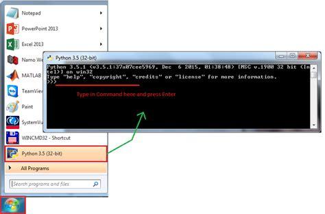 pythonxy tutorial write a python script windows