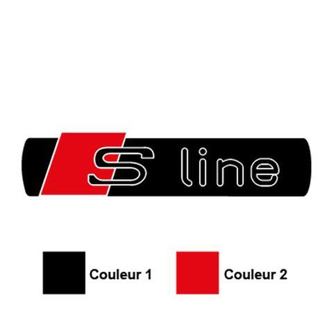 Audi Aufkleber S Line by Sticker Audi S Line Logo