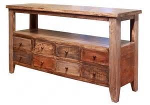 Sofa Table With Drawers Antique Multicolor 8 Drawer Sofa Table