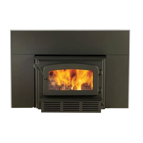 shop drolet 1 600 sq ft wood stove insert at lowes